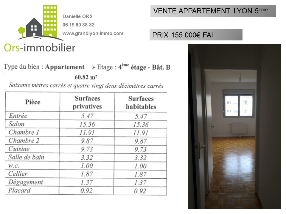 ORS IMMOBILIER VEND APPARTEMENT LYON POINT DU JOUR.JPG